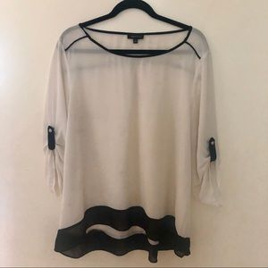 Sheer easy to wear Spense blouse xl